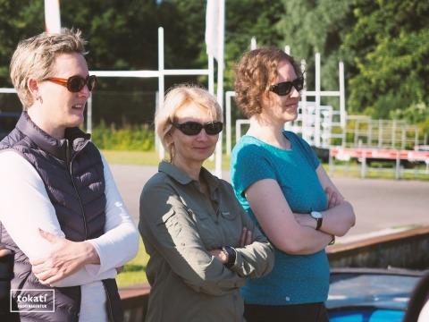 Caroline, Christine und Steffi von tokati haben alles im Blick (⌐■_■)